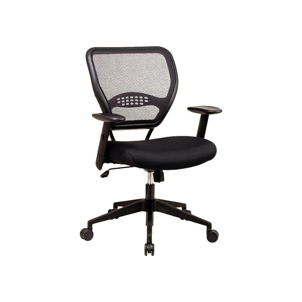 Silla officemax ejecutiva space en mesh de nylon for Silla ejecutiva ergonomica