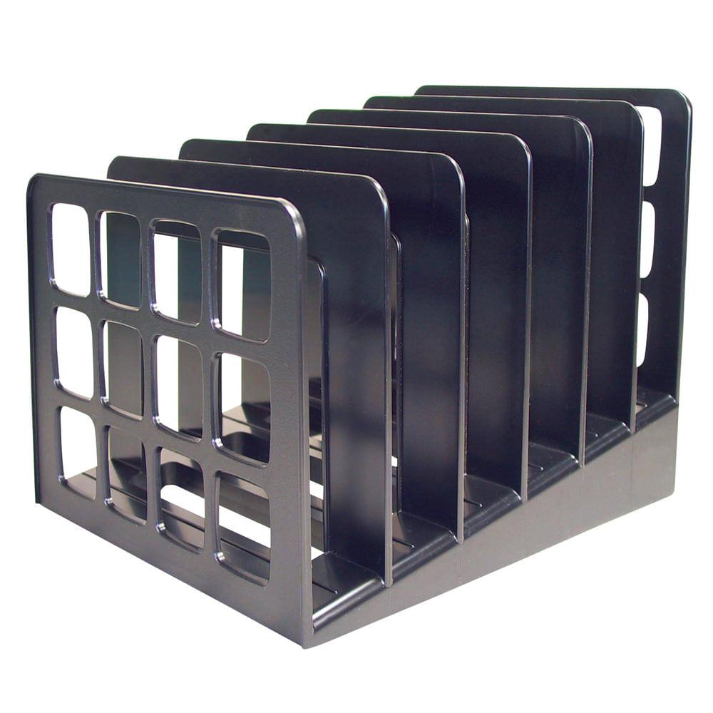 Organizador archivo escalonado neg 6div 19x19x23cm officemax - Organizadores escritorio ...