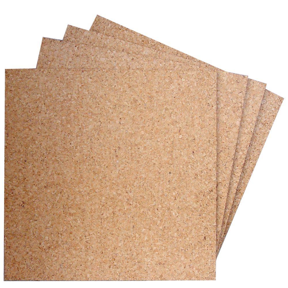 Paquete losetas de corcho incluye 4 piezas 30x30 cm - Corcho aislante precio ...