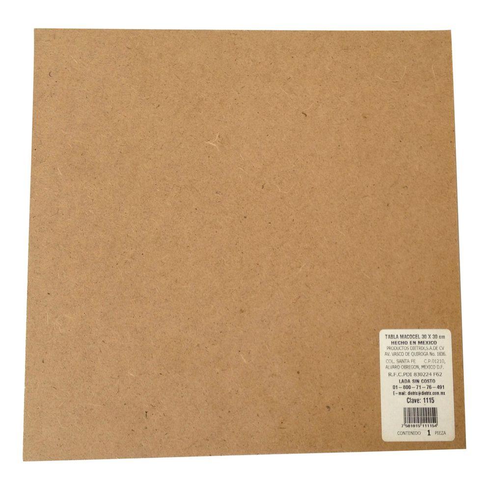 Tabla macocel 30x30 cm officemax - Laminas de madera ...