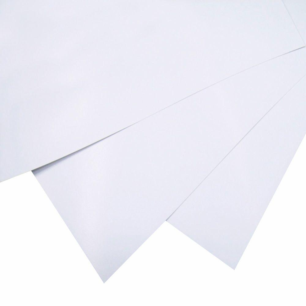 Cartulina opalina 225grs 5 pliegos 57 x 68 cm cada hoja for 1 cuarto de cartulina