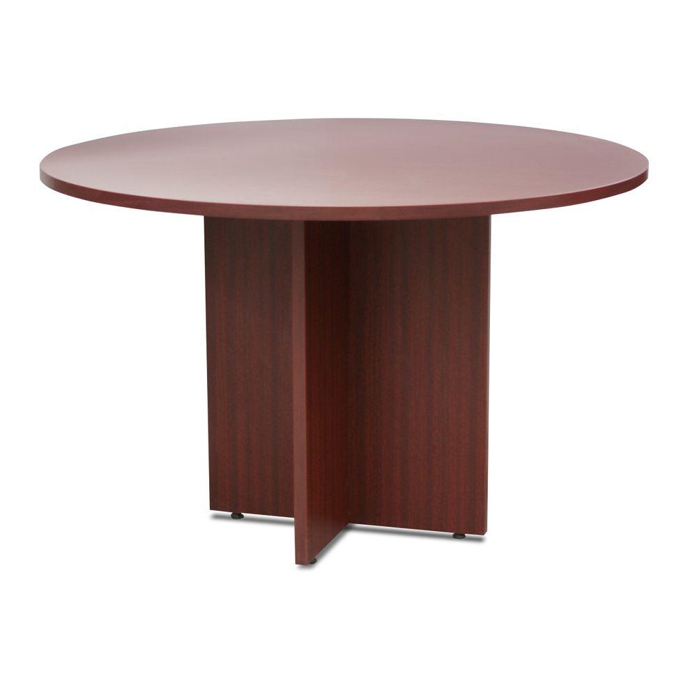 Mesa de juntas carrigan mdf cerezo officemax for Mesas de 8 personas