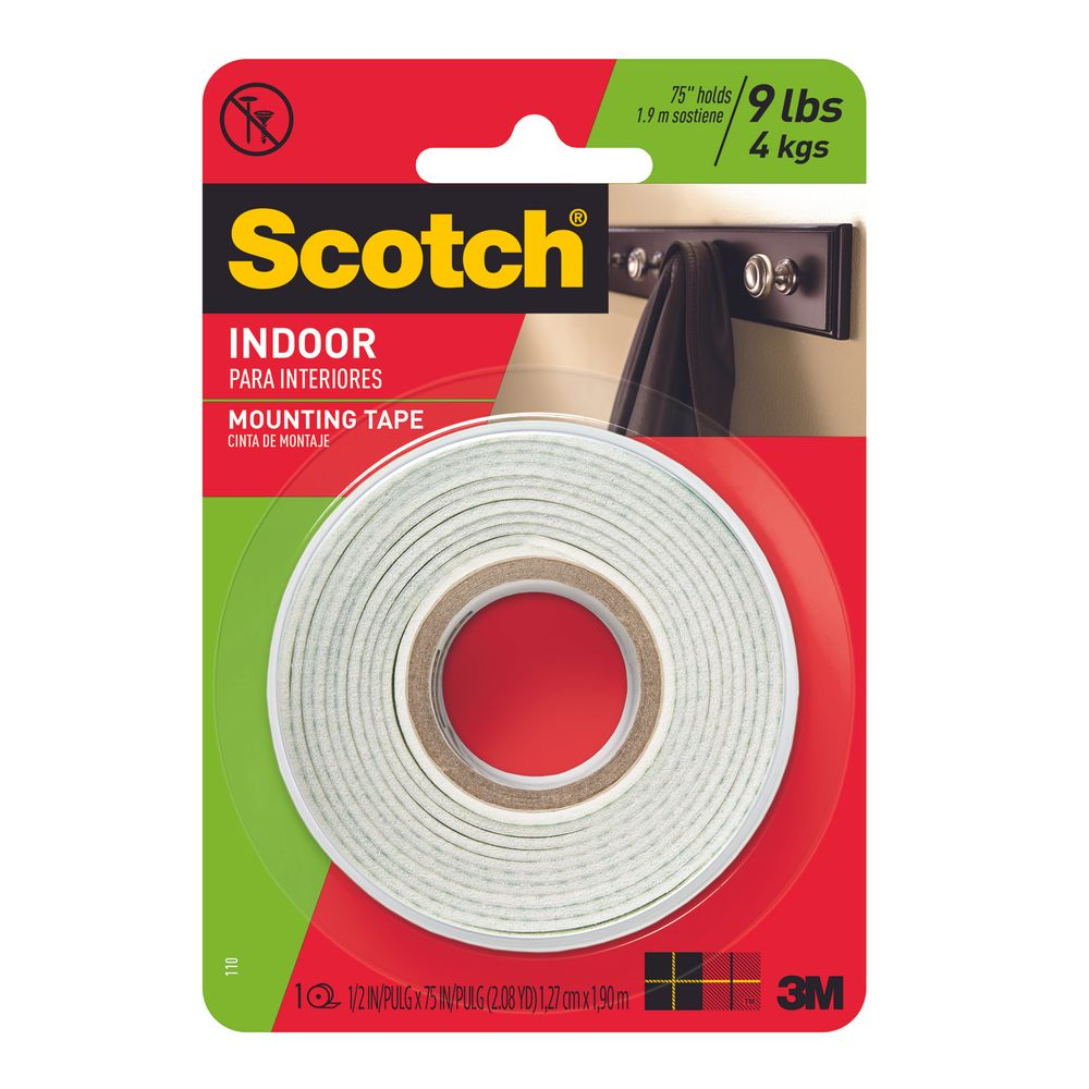 Cinta para montaje doble cara Scotch - OfficeMax