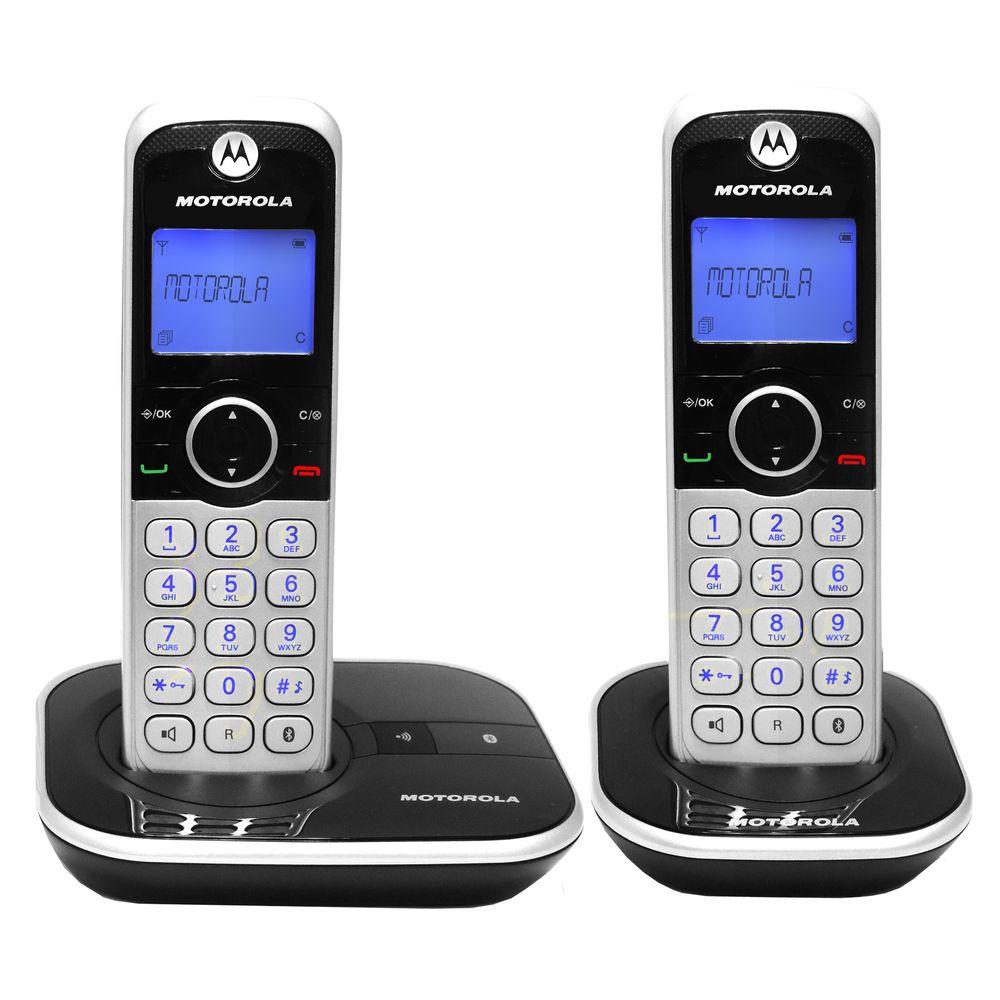 Tel fono motorola 4800 duo inalambrico bluetooth officemax for Telefono 1210