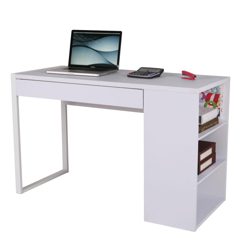Escritorio de trabajo henry blanco melamina officemax - Escritorio de trabajo ...