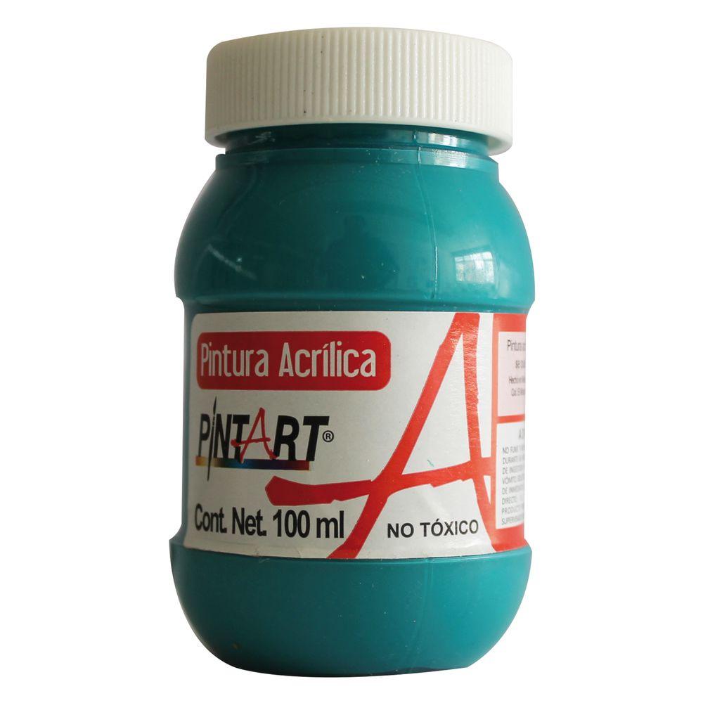 Pintura acrilica azul turquesa 100ml officemax for Pintura azul turquesa
