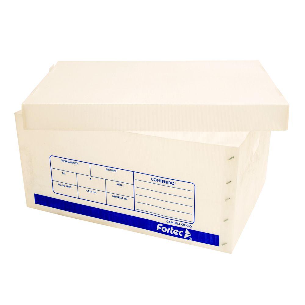Caja archivo plastico oficiopza officemax - Cajas de polipropileno ...