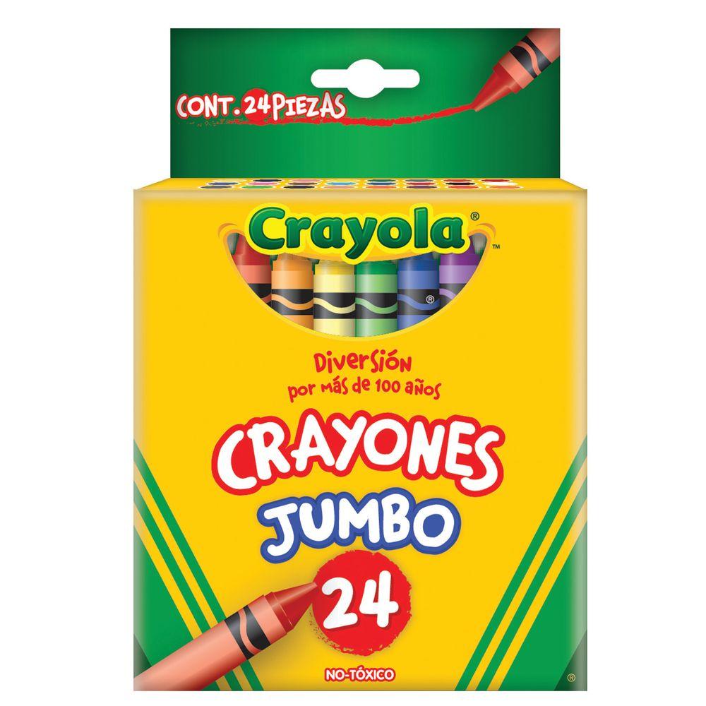 CRAYONES CRAYOLA JUMBO 24 PZAS - OfficeMax