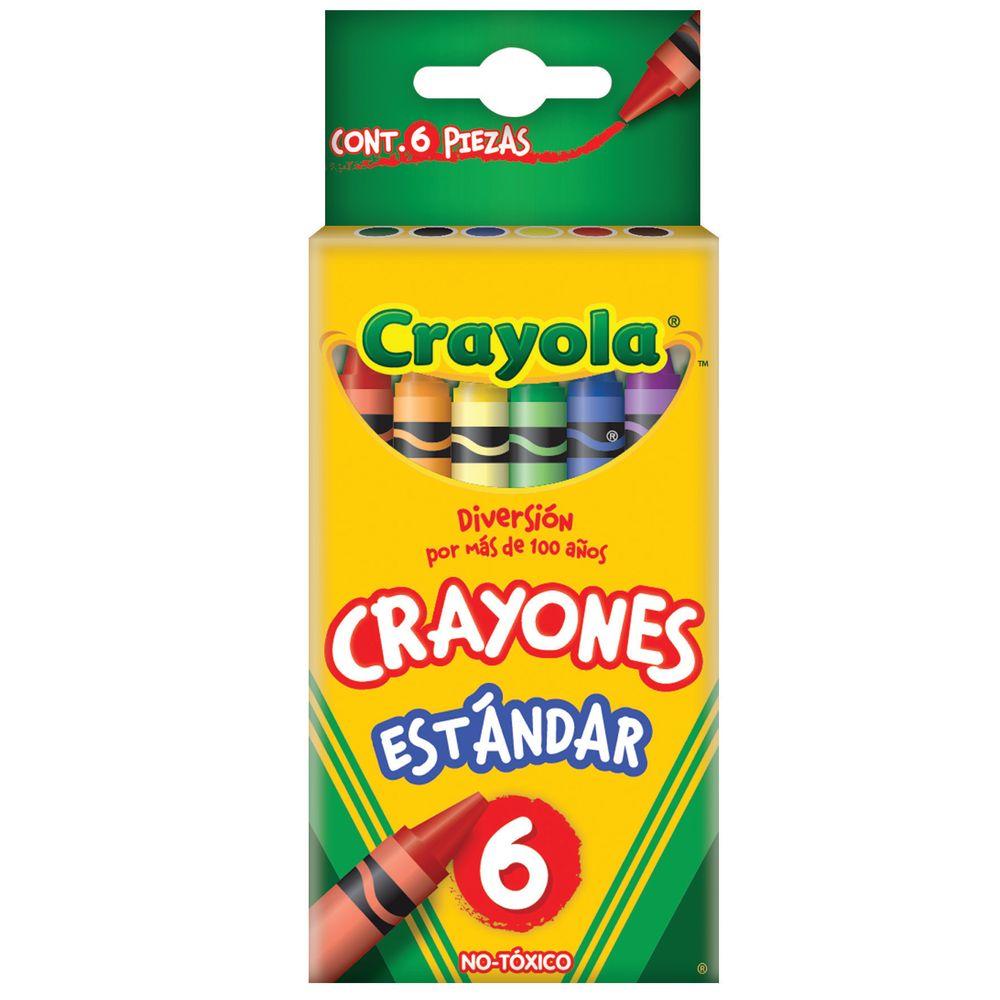 CRAYONES CRAYOLA 6 PZAS - OfficeMax