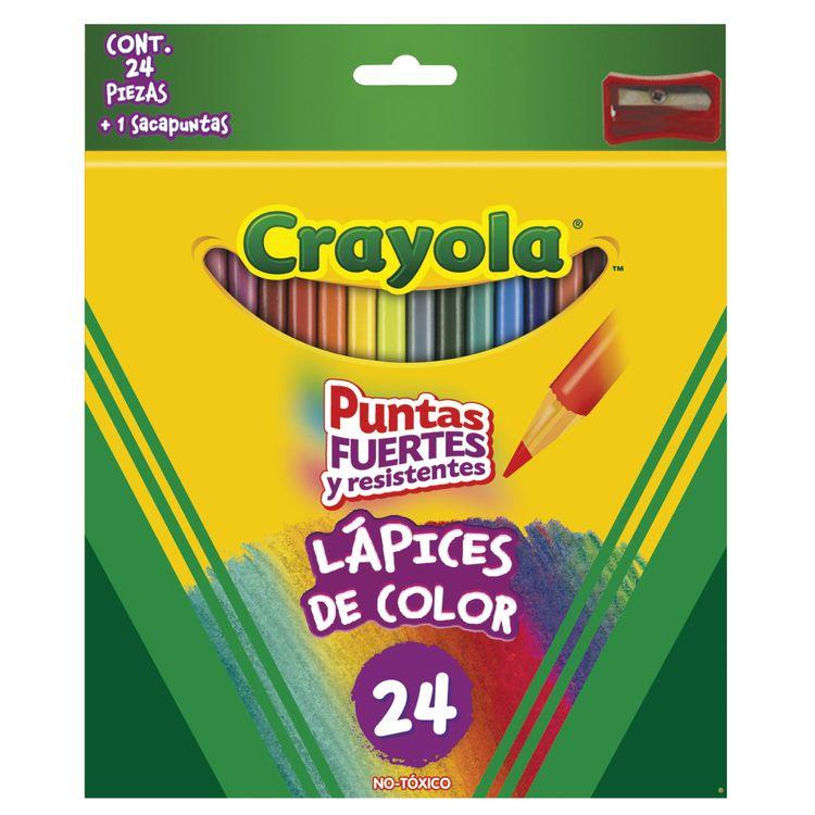 Colores Crayola 24 Piezas - OfficeMax