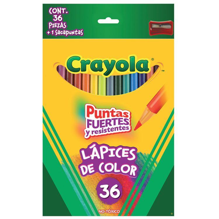 Colores Crayola 36 Piezas - OfficeMax