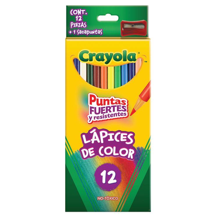 Colores Crayola Triangular 12 piezas - OfficeMax