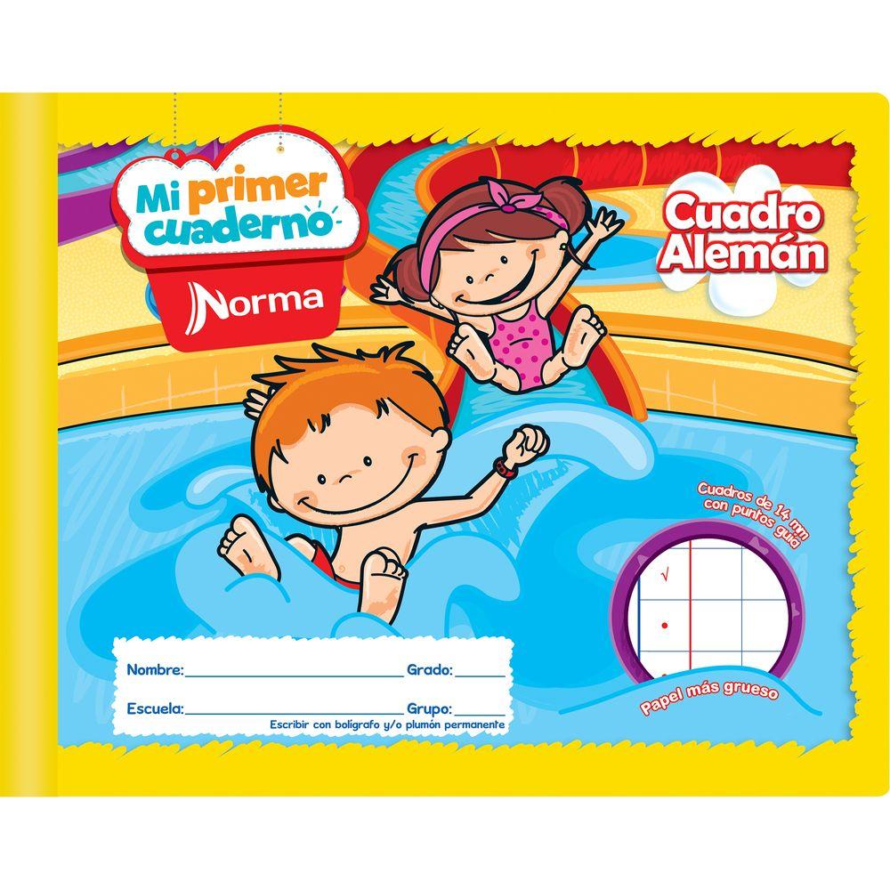 Cuaderno Cuadro Aleman Mi Primer Cuaderno 72 Hojas Officemax # Papeleria Dabo Muebles