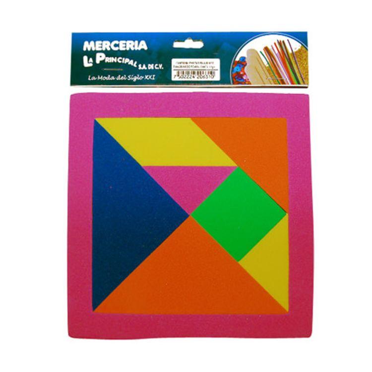 1cb02e1dcba TANGRAM DE FOAMY LA PRINCIPAL 16X16 CMS 1 JUEGO - OfficeMax