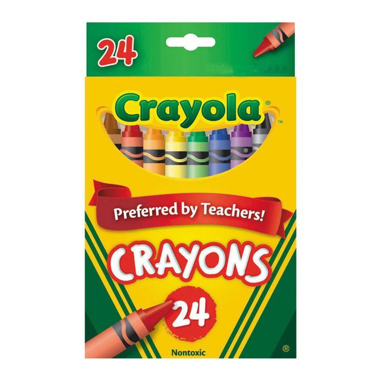 Crayones Crayola Colores Surtidos - OfficeMax