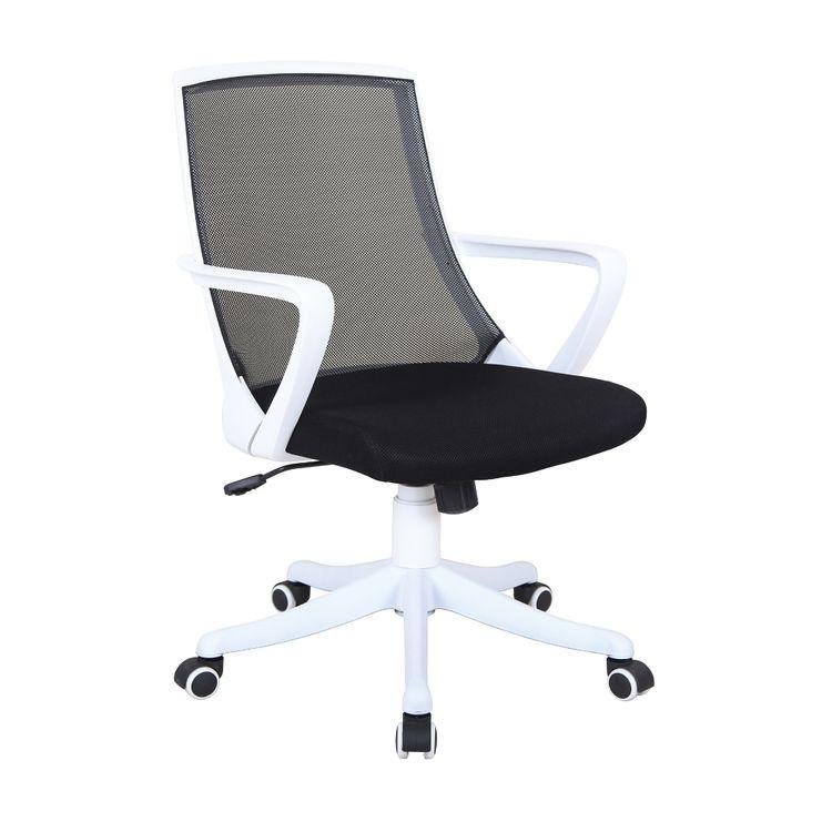 Silla Secretarial Coria Mesh Blanco - OfficeMax