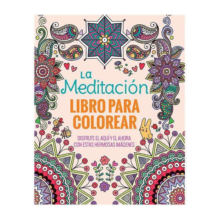 Mandala La Meditacio Libro para Colorear - OfficeMax