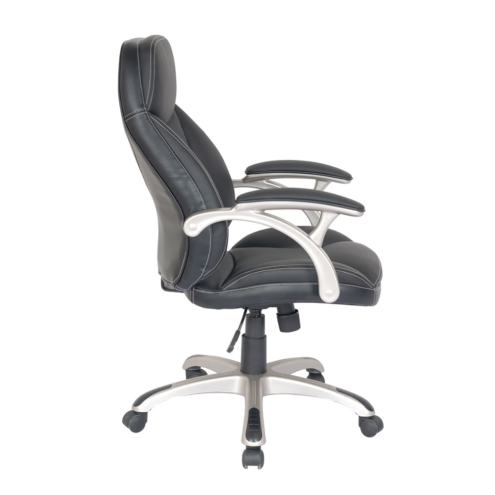 Silla Officemax Ejecutiva Hudson Polipiel Negro Officemax # Muebles Zurich San Luis Potosi