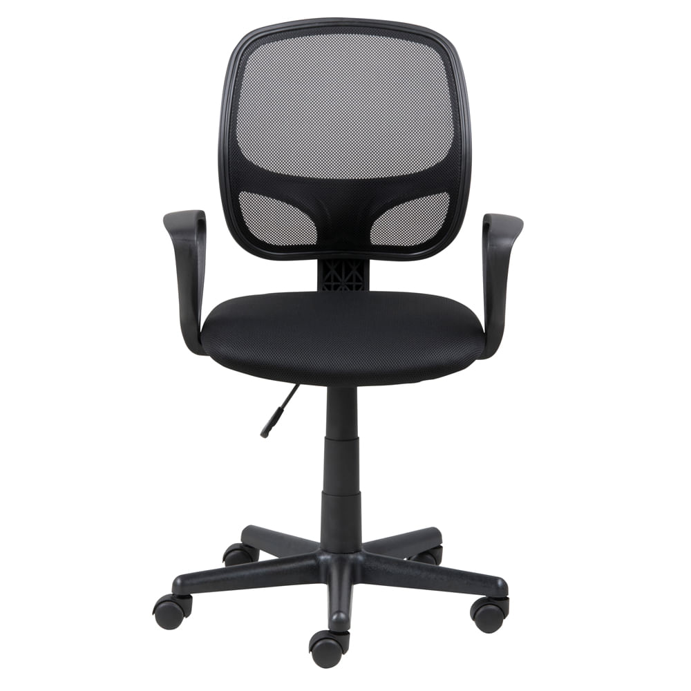 Silla Secretarial Major Mesh Negro Officemax # Muebles Zurich San Luis Potosi