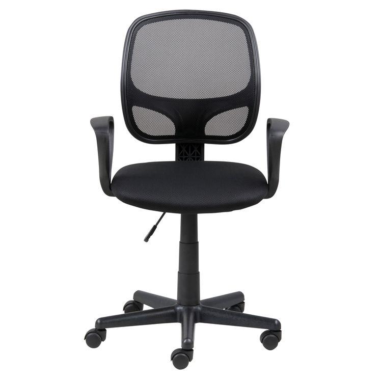 Silla Secretarial Major Mesh Negro - OfficeMax