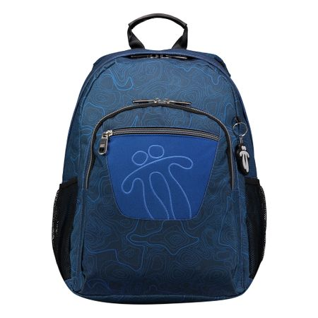 1a12642b3cc Mochila camuflaje azul de Totto