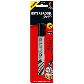 Marcador-Permanente-Esterbrook-Cincel-Negro-pieza
