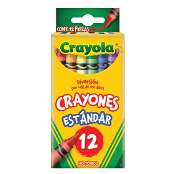 CRAYONES-CRAYOLA-12PZAS