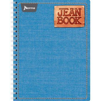Cuaderno-Profesional-Cuadro-Chico-Jean-Book-100-Hojas