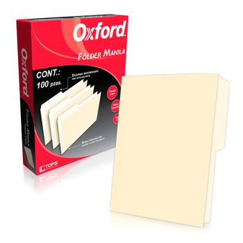 Folder-Oxford-Carta-Manila-100pz