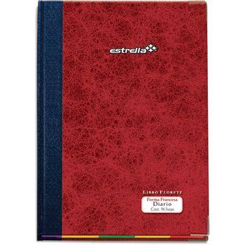 Libro-Estrella-Florete-Forma-Francesa-Diario-96hojas