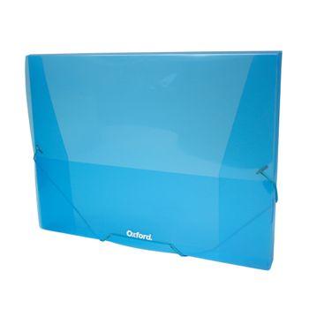 Caja-Portadocumento-C-Elastico-Azul-Claro-Y-Transparente