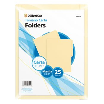 Folder-Officemax-Carta-Manila-25pz