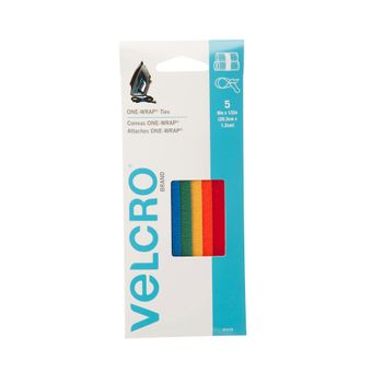 Correas-Velcro-One-Wrap-20.3x-1.2-5-piezas-Multicolor