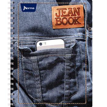 Cuaderno-Profesional-Cuadro-Chico-Jean-Book-5M-200-Hojas