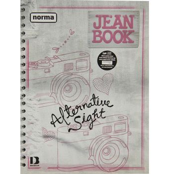 Cuaderno-Profesional-5-Materias-Mix-Jean-Book-200-Hojas
