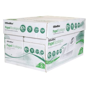 Papel-Officemax-Ecologico-Carta-87--Blancura-5000-H-75-Grs