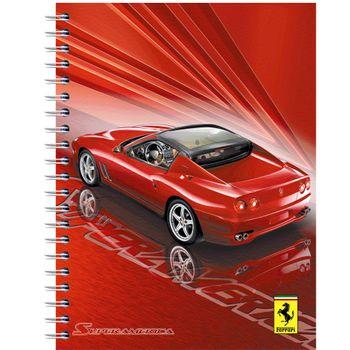 Cuaderno-Profesional-Cuadro-Grande-Dura-Book-Ferrari-160-Hojas