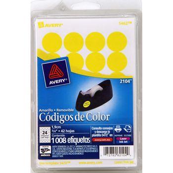 Etiqueta-Adhesiva-Circular-Amarilla-3-4--1008-Pz