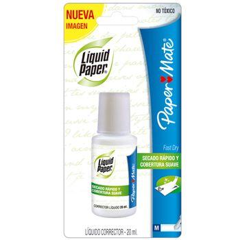 Corrector-Liquid-Paper-20-MLBotella-Aplicador-Brocha-Pza