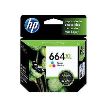 Cartucho-HP-664XL-TriColor