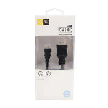 Cable-Micro-HDMI-4Ft-Case-Logic-Negro