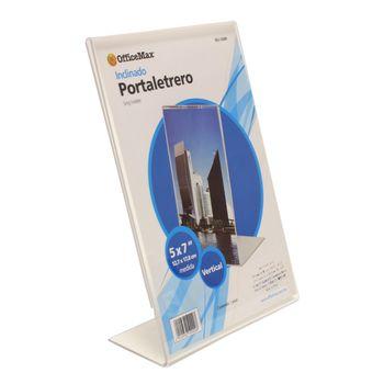 Portaletrero-Acrilico-Officemax-Vertical-5x7-Pulgadas