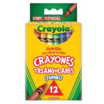 CRAYONES-TRIANG-CRAYOLA-12PZ