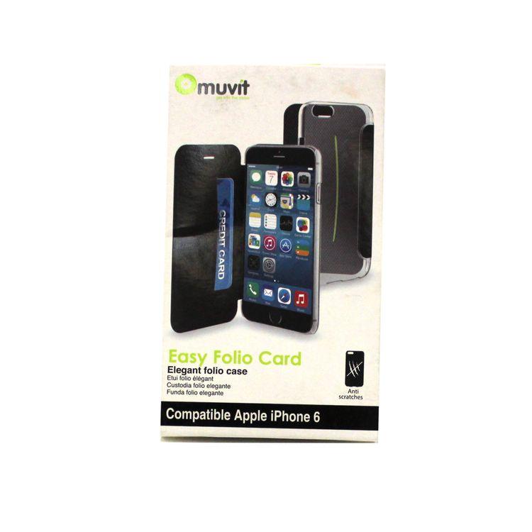 57a4a017be2 Funda para iPhone 6 Muvit Crystal | Accesorios para Celulares y ...