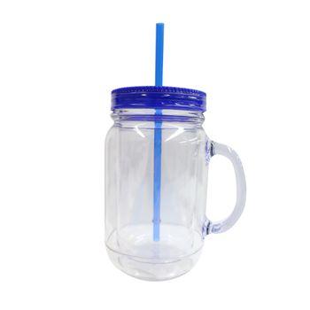 Vaso-con-Popote-20oz-Azul