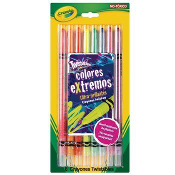 Crayones-neon-twistables-Crayola-8-piezas