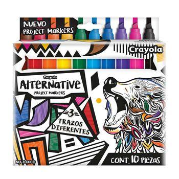 Plumones-Crayola-Punta-Cincel-10-piezas