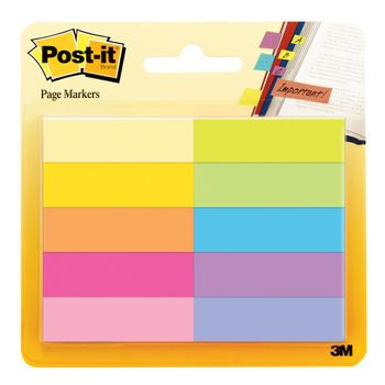 Mini-Se¦ales-Post-It-10-Color-½-x1¾-