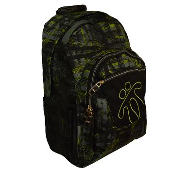 Backpack-Gris-y-Amarillo-Totto