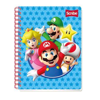 Cuaderno-Profesional-Mario-Bros-1-Cuadro-Grande-Scribe-100Ho
